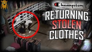 Crazy Thief Returns STOLEN Clothes