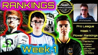 "CWL Pro League POWER Rankings ""Week 1"" 