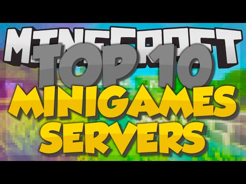 Top 10 Minecraft Minigame Servers (Minecraft 1.7.9) - 2014 [HD]