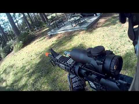 Ignite Black Ops M4 Viper airsoft weapon demo