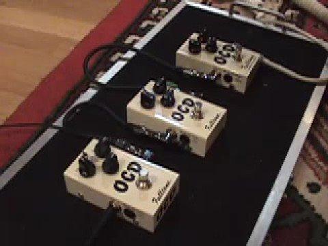 Fulltone OCD version 2 3 4 demo V.2 V.3 v.4 pedal shootout