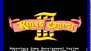 King's Quest III : To Heir is Human (Apple II GS) - Introduction (Anglais)