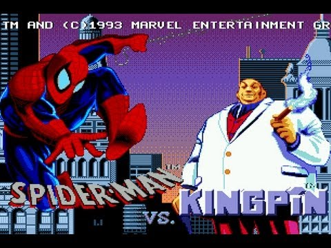 CGRundertow THE AMAZING SPIDER-MAN VS. THE KINGPIN for Sega Genesis Video Game Review