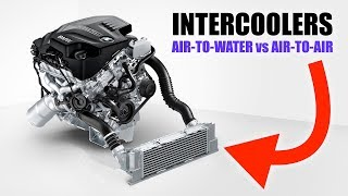 The Differences Between Air-to-Air and Air-to-Water Intercoolers