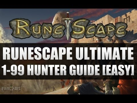 #1 Runescape – ULTIMATE Hunter guide 1-99 (In depth) (Up to date)