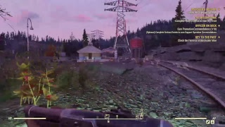 PS4live Fallout 76 Continuing From Beta Part 1 Long Game Play Commentary