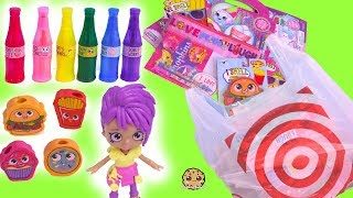 Scented Food Markers, Shopkins, Shoppies ! Target Dollar Spot Haul Video