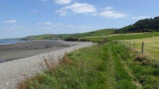 Aberaeron Aberarth Coast Walk Scenery - Ceredigion Walks - Tour Wales Walking Holidays UK