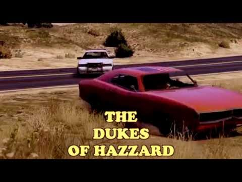 GTA V online vs THE DUKES OF HAZZARD / Sherif fait moi peur FULLSCREEN GTA 5