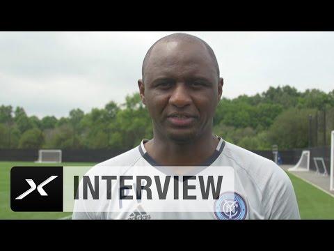 """Patrick Vieira: """"Didier Drogba einer der weltbesten Spieler""""   New York City FC   MLS"""