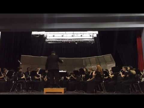 North Springs High School Band plays Canadian Brass Holiday Medley