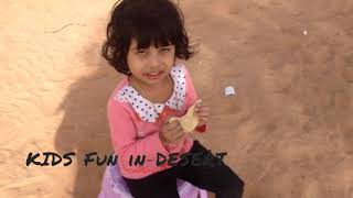 Kids Funtime at Desert
