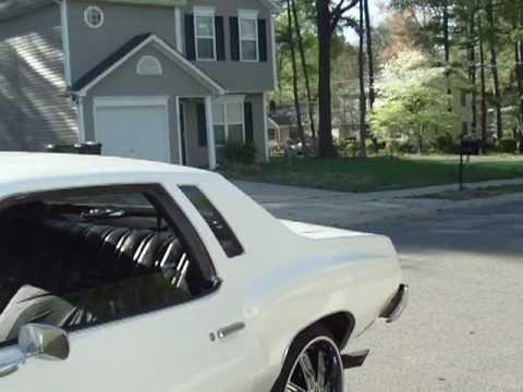 74 Monte spinnin 24 inch dub tycoon floaters