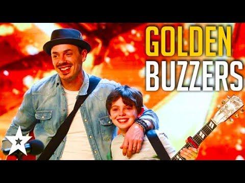 5 GOLDEN BUZZER Auditions on Britain's Got Talent 2018   Got Talent Global