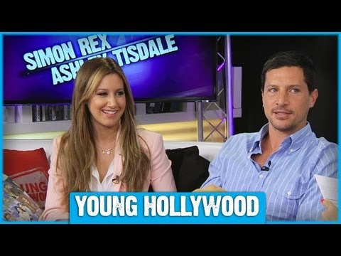 Ashley Tisdale & Simon Rex on Instagram Selfies & Vine!