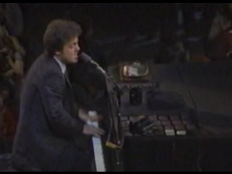 Billy Joel 1982 Long Island Live and interview