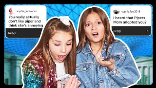Assumptions About Me ft. Piper Rockelle | Sophie Fergi