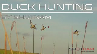 Duck Hunting Season – by ShotKam – Video Camera Captures Every Shot from the End of the Barrel