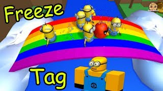 Minion Freeze Tag & Hide and Seek Extreme - Let's Play Roblox Online Games