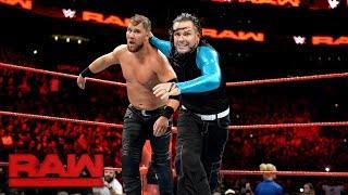 Jason Jordan & The Hardy Boyz vs. The Miz & The Miztourage: Raw, Aug. 14, 2017