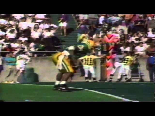 Postgame interviews following Oregon's victory over New Mexico St. 10-05-91