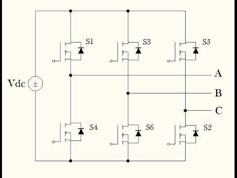 Six Step Voltage Source Inverter (part I : Circuit Demonstration)