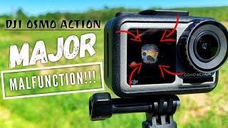 DJI Osmo Action HAS A MAJOR MALFUNCTION! - Possible Recall?