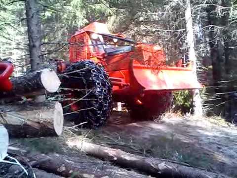 Timberjack 230 Turbo Skidder Youtube