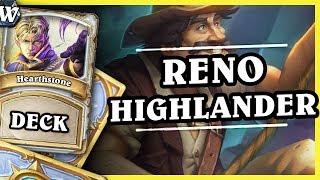 RENO HIGHLANDER PRIEST - Hearthstone Deck Wild (KotFT)