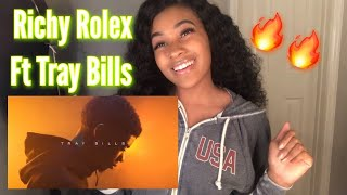 RICHY ROLEX FT TRAY BILLS- HOT TOPIC (Official Music Video) Reaction!