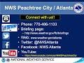 NWS Atlanta Weekly Weather Briefing For October 30, 2020