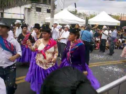 Conjunto Folklorico Moseñada En Carnaval 2012 São Paulo-Brasil