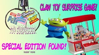 The Claw Crane Game Alien Toy Story Shopkins Happy Places Masha and Bear CLAW MACHINE Tubey Toys