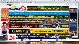 Khó chặn quảng cáo của các trang mạng vi phạm bản quyền | VTV24