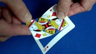 Bend Over - Card Trick Revealed & Giveaway