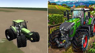Evolution Of Farming Simulator 2008 - 2019
