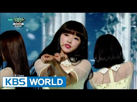 OH MY GIRL (오마이걸) - CLOSER [Music Bank K-Chart / 2015.10.23]