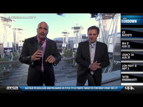 Bas Rutten Takes on the ALS Ice Bucket Challenge