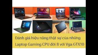 Đánh Giá Chất Lượng Những Dòng Laptop Dell - HP - Lenovo - MSI - Acer - CPU  Đời 8 VGA rời GTX10