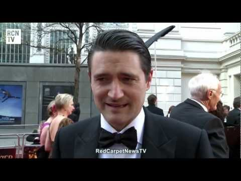 Tom Chambers Interview - Top Hat - Olivier Awards 2012.