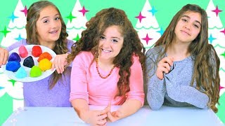 3 Colors of Cookie Dough Christmas Cookie Challenge!!!