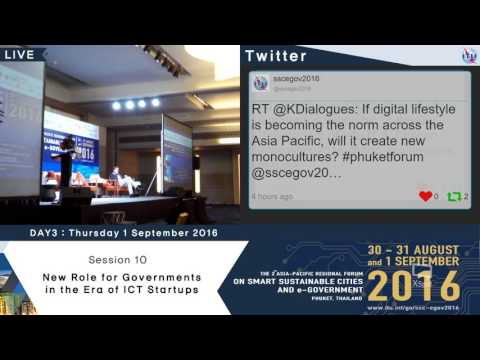The 2nd Asia-Pacific Regional Forum : On Smart Sustainable Cities and E-government (Day3_part2)