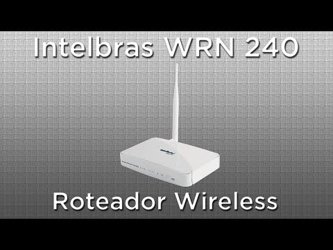 Roteador Intelbras WRN240 150mbps WiFi N + B/G