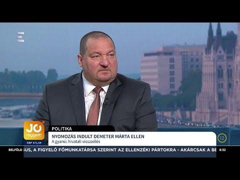 Nyomozás indult Demeter Márta ellen - Németh Szilárd - ECHO TV