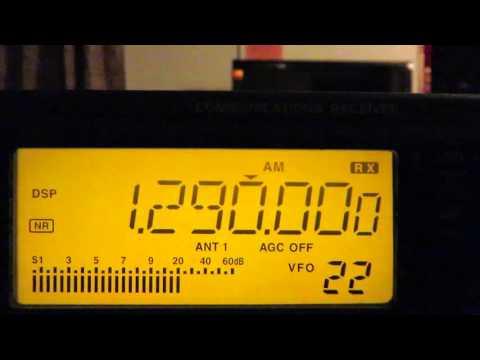 1290 kHz Venezuela,  Radio Puerto Cabello on MW