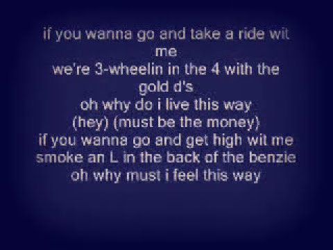 Nelly- Ride With Me LYRICS ON SCREEN.wmv