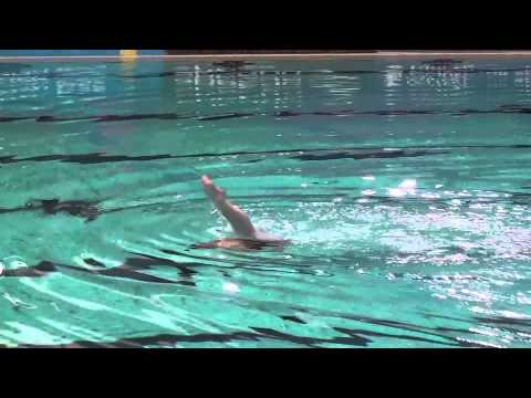 British Open Synchronised Swimming 2013 Solo technical routine The Netherlands Margot de Graaf