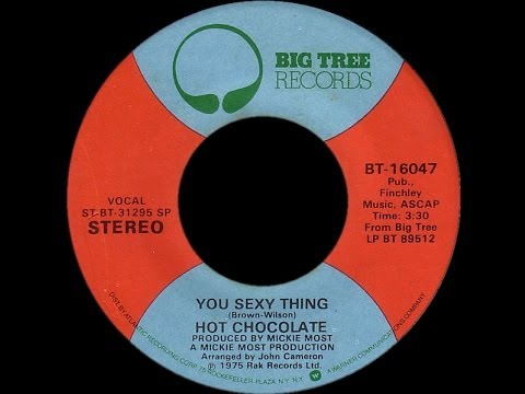 Hot Chocolate ~ You Sexy Thing 1975 Disco Purrfection Version video