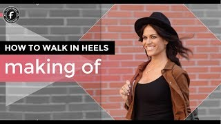 Making of Street Walk Shoot | Fabylis® How to Walk in Heels