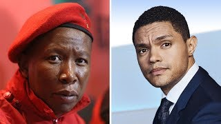 Trevor Noah agrees with Julius Malema on xenophobia in South Africa